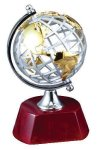 World Globe on Rosewood Base Sales Awards