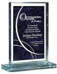 Two Color Laserable Glass Award Sales Awards