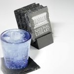 Stonecast Slate Coaster Secretary Gift Awards