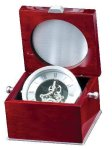 Rosewood Quartz Clock Secretary Gift Awards